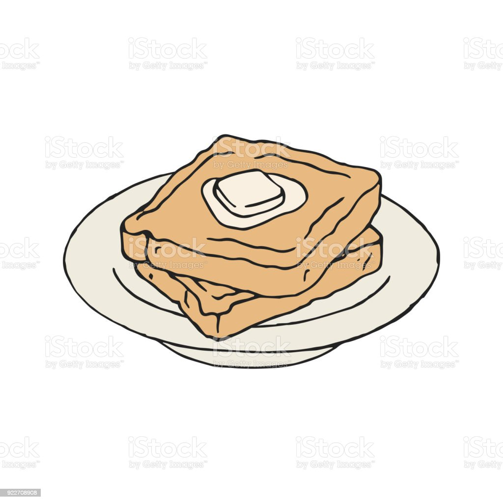 royalty free french toast clip art vector images