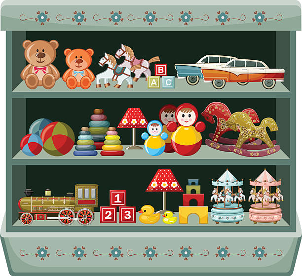 28 Wooden Toy Car Illustrations Clip Art Istock