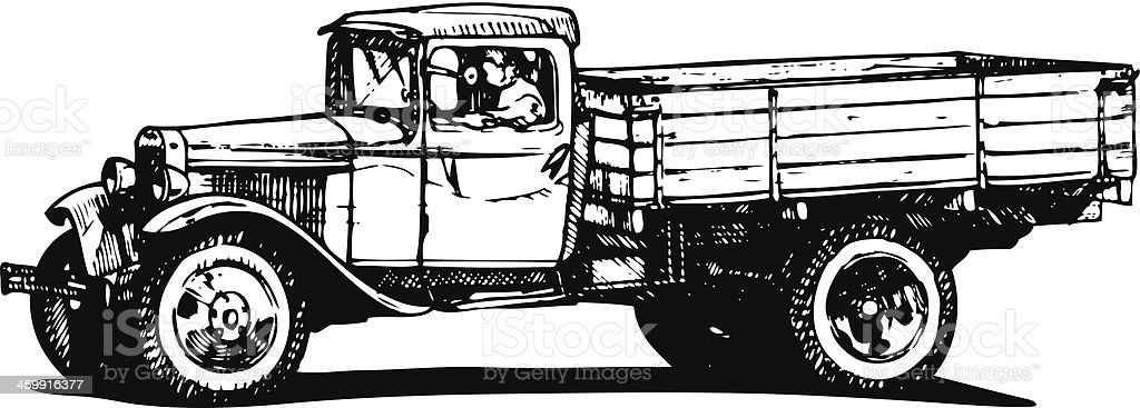 vintage truck royalty-free vintage truck stock vector art & more images of 1930-1939
