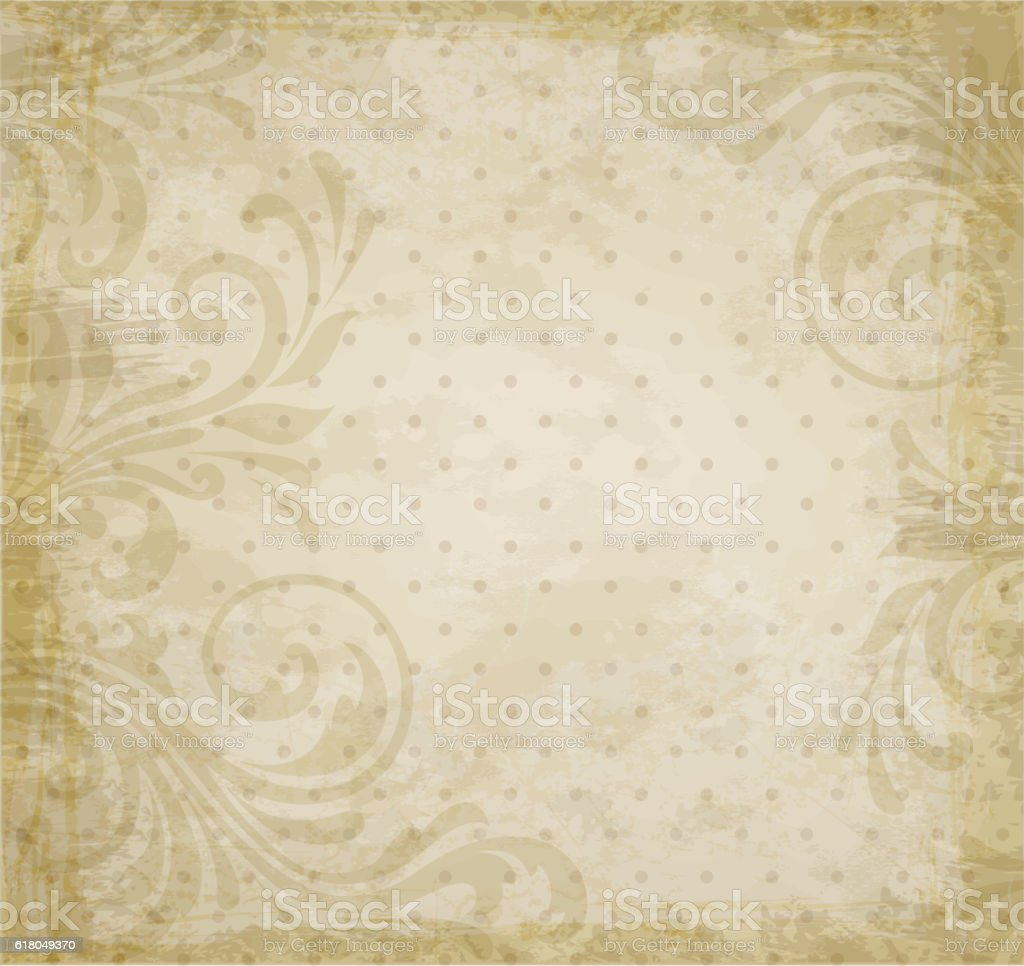 Vintage vector background vector art illustration