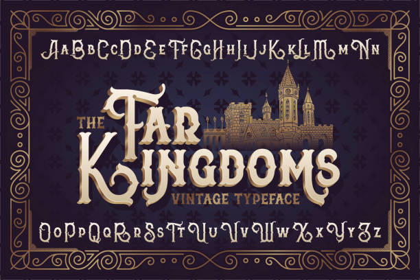 Best Medieval Letter Illustrations, Royalty-Free Vector Graphics