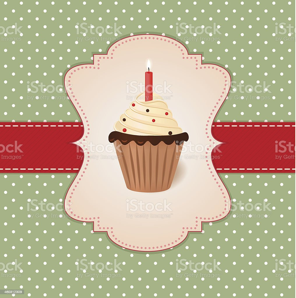Vintage Vector Greetings Card Stock Vector Art More Images Of