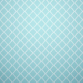 Vintage vector seamless pattern. Endless texture for wallpaper, fill, web page background, surface texture. Monochrome geometric ornament. Blue and white shabby pastel colors.