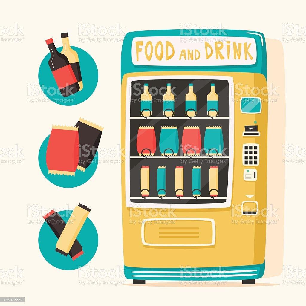 royalty free coke vending machine clip art vector images rh istockphoto com Snack Vending Machine Clip Art clipart vending machine