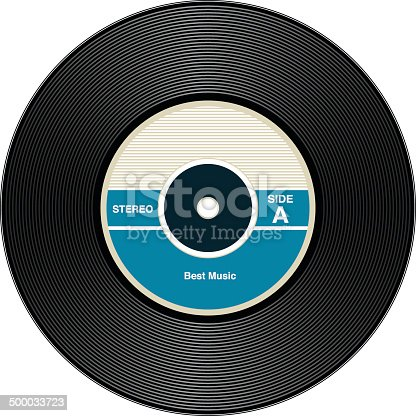 istock Vintage Vinyl Records 500033723