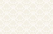 Seamless vintage wallpaper pattern. Vector image.