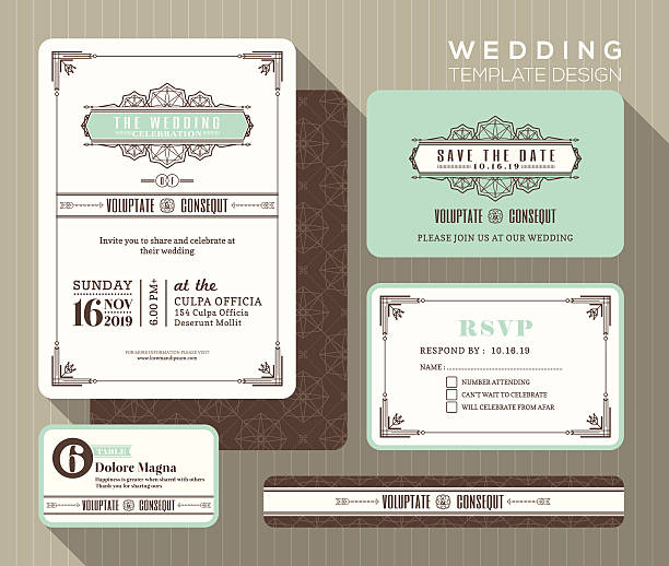 Best Wedding Reception Illustrations, Royalty-Free Vector