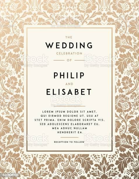 Vintage wedding invitation template vector id646908104?b=1&k=6&m=646908104&s=612x612&h=cmpwnx cp4bxwhl3egpspdgmkuoncj5knojpp5k6ncw=