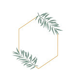 istock Vintage wedding set with greenery. Vector illustration. Wreath with leaves and twigs. 1080803220