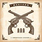Vintage Western Revolvers
