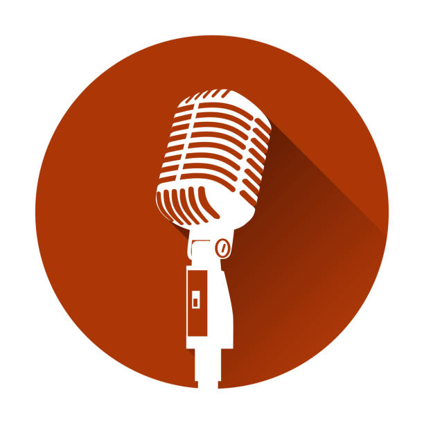 Best Radio Microphone Illustrations, Royalty-Free Vector ...
