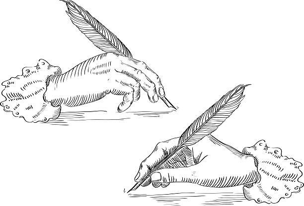 Écrit à la main Vintage - Illustration vectorielle
