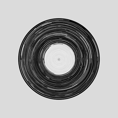 vinyl draw icon vector