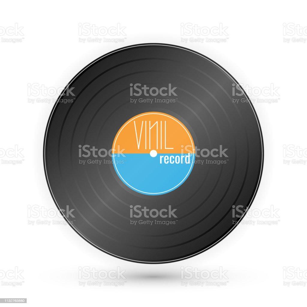 vinyl music record vintage gramophone disc vector illustration stock illustration download image now istock https www istockphoto com vector vinyl music record vintage gramophone disc vector illustration gm1132763880 300428977