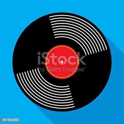 istock Vinyl Record Album Icon 941632502