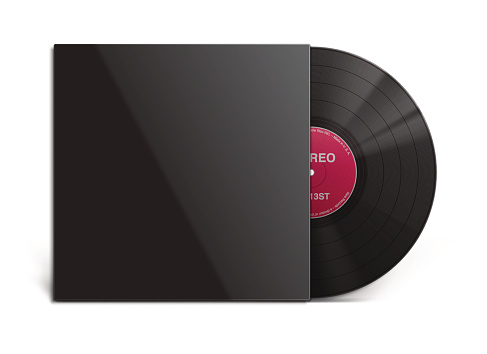vinyl record and cover