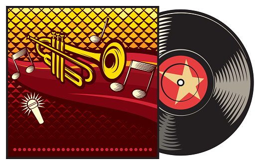 Vinyl record in pack or cover