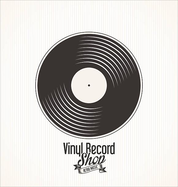 gramophone record vector art graphics freevector com 2
