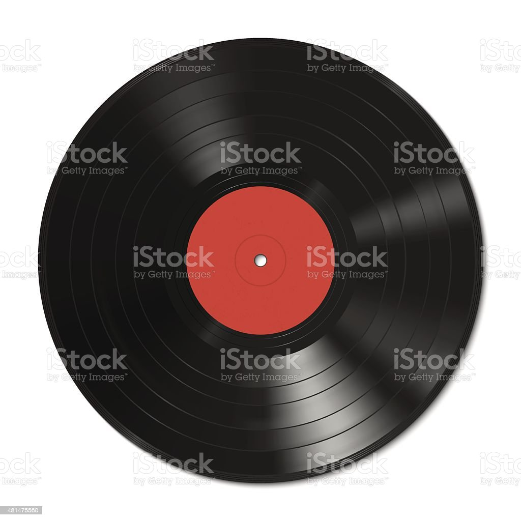 Vinyl record template royalty-free vinyl record template stock illustration - download image now