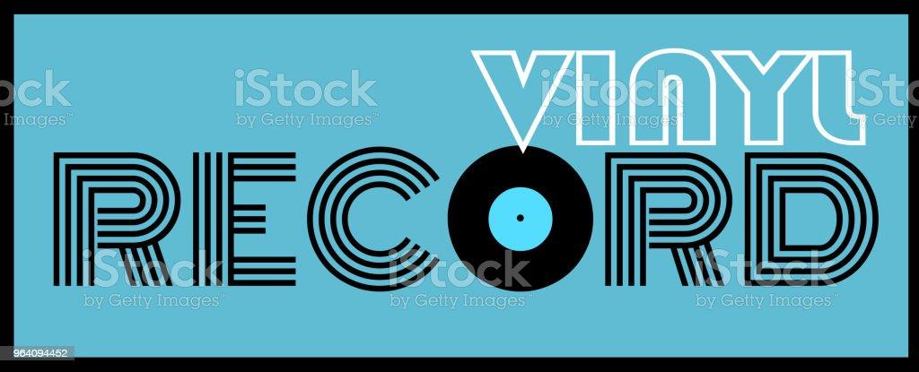 vinyl record - Royalty-free Analog stock vector