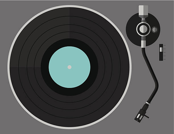 Best Turntable Illustrations Royalty Free Vector Graphics