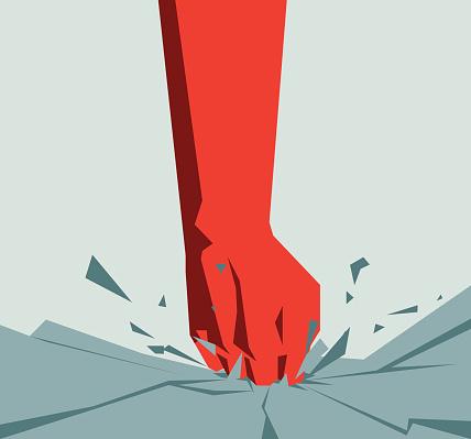 Violence-Illustration