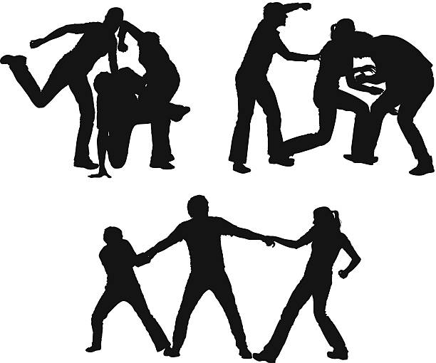 Image result for picture of a gang killing a man silhouette