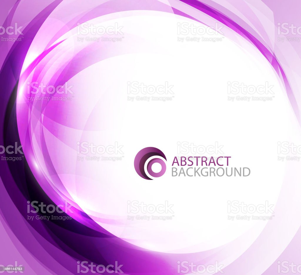 Violet energy background vector art illustration