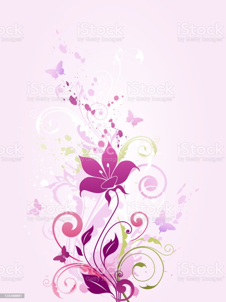 violet flowers royalty-free violet flowers stock vector art & more images of blob