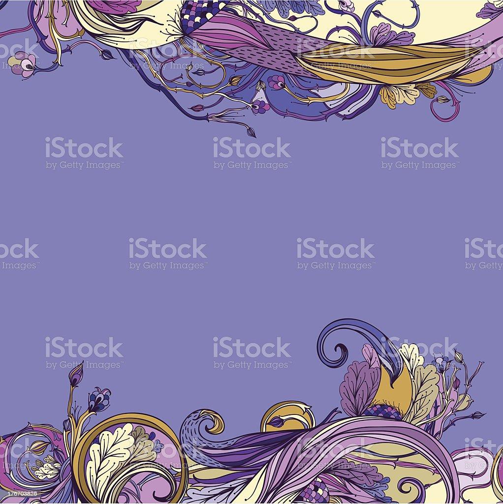 Violet royalty-free stock vector art