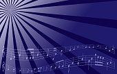 violet vector music background - eps 10
