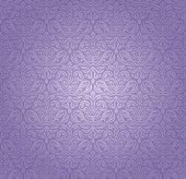 Violet vintage seamless pattern ornamental background design