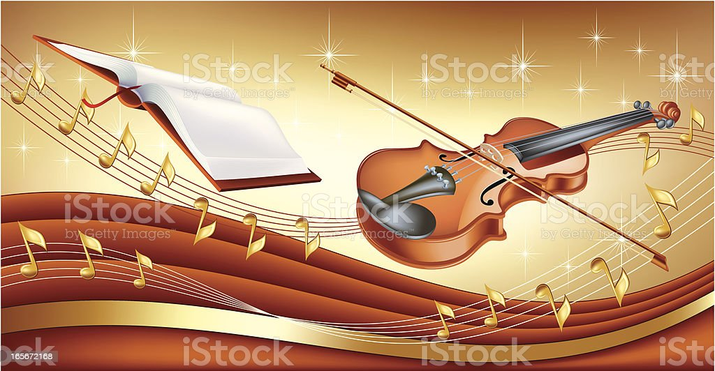 Violin background royalty-free violin background stock vector art & more images of antique