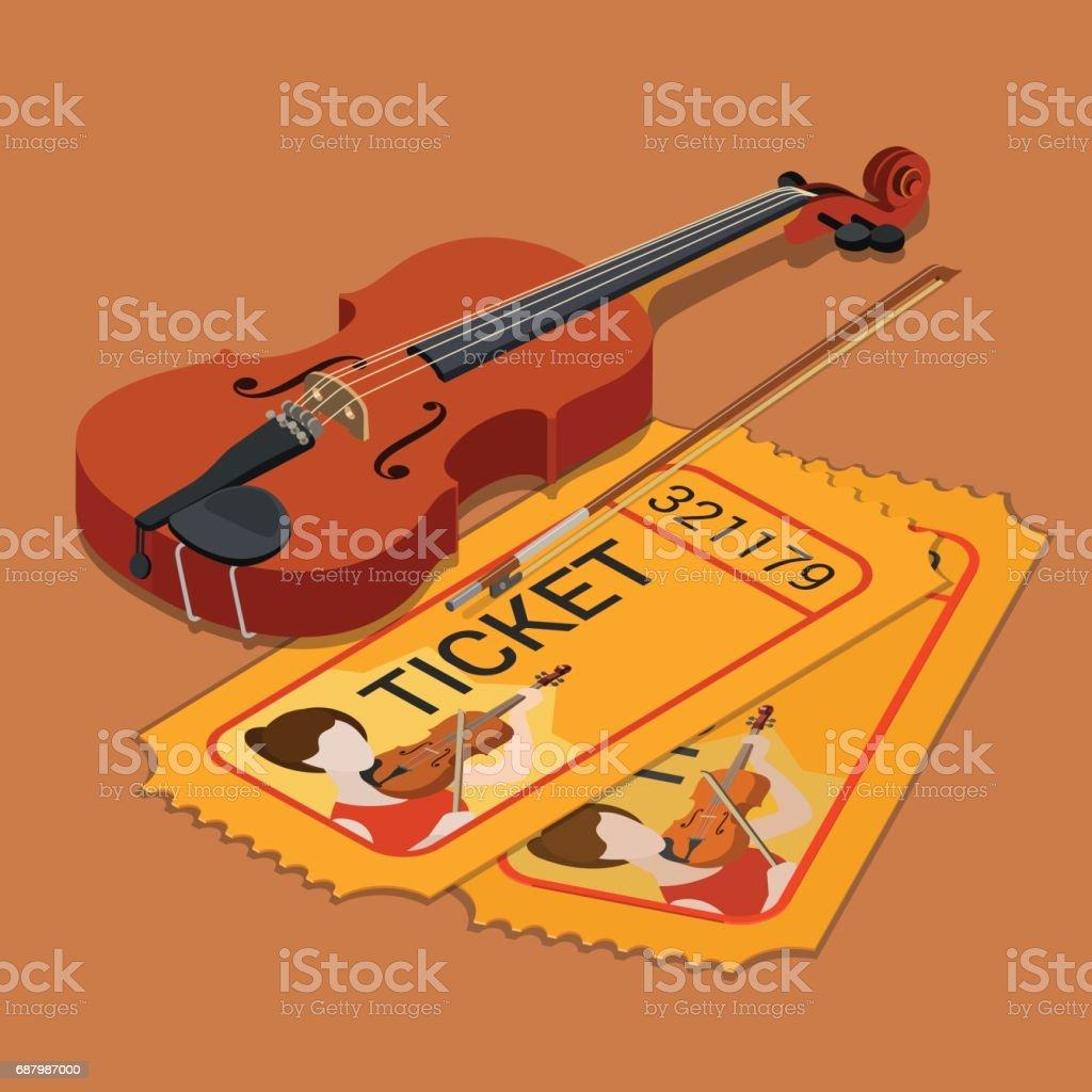 Klassische Orchester Konzert Geigenmusik Zeigen Teilnahme ...