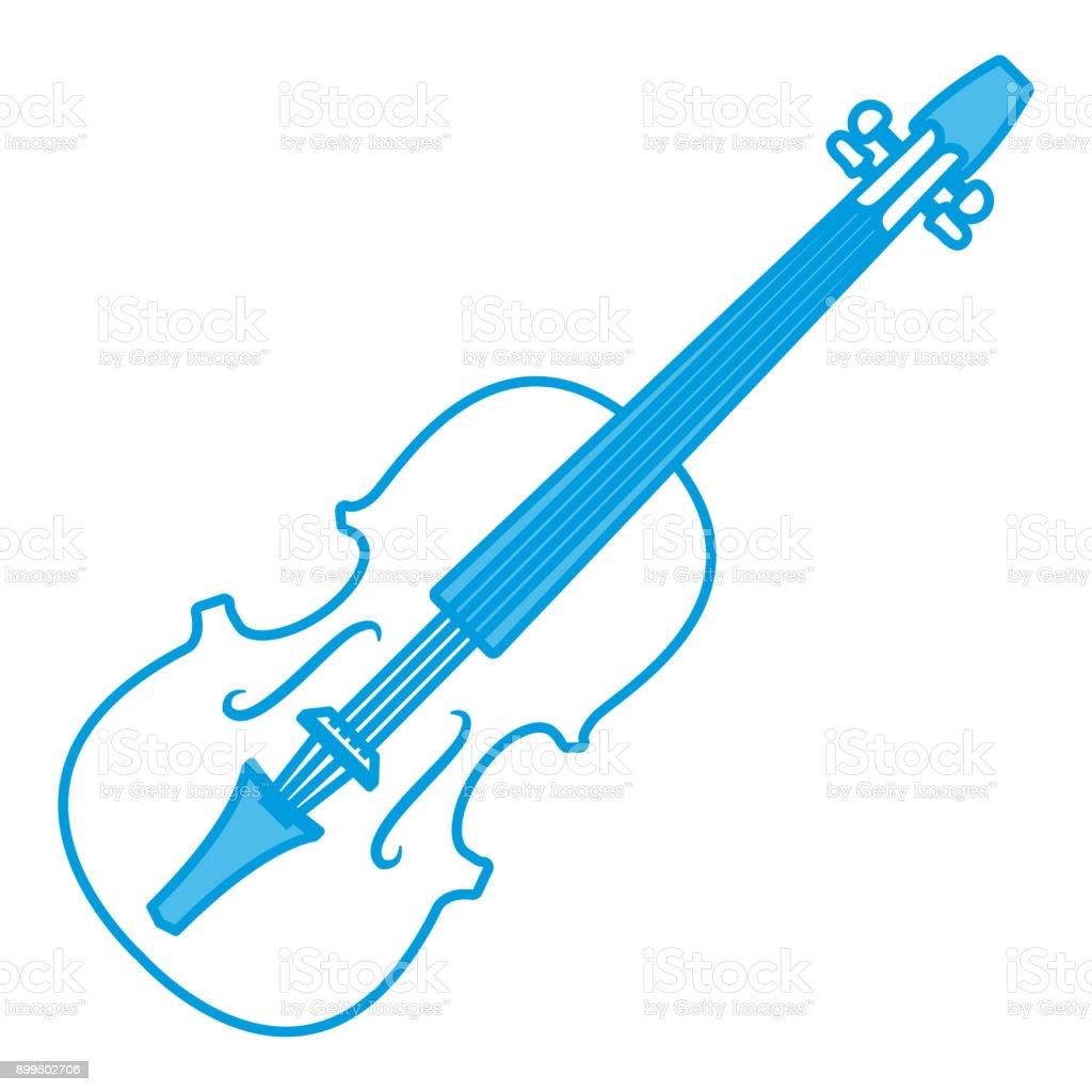 Violin Music Instrument Stock Illustration - Download Image Now - iStock