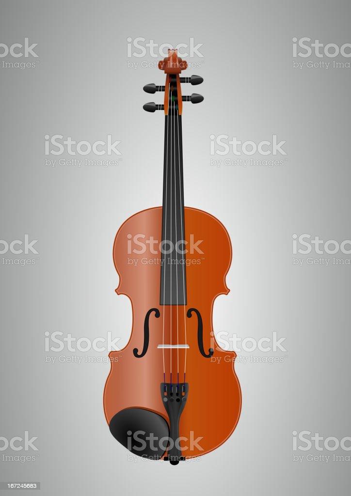 violin royalty-free stock vector art
