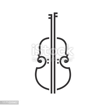 istock Violin Viola Fiddle Cello bass music instrument design inspiration 1171005952