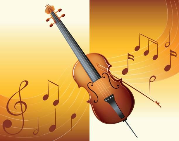 Classical Music Clips Cartoons Illustrations, Royalty-Free