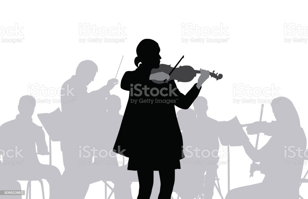 Violon Orchester – Vektorgrafik
