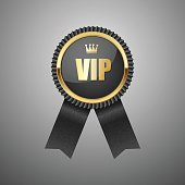 Vip black label.vector