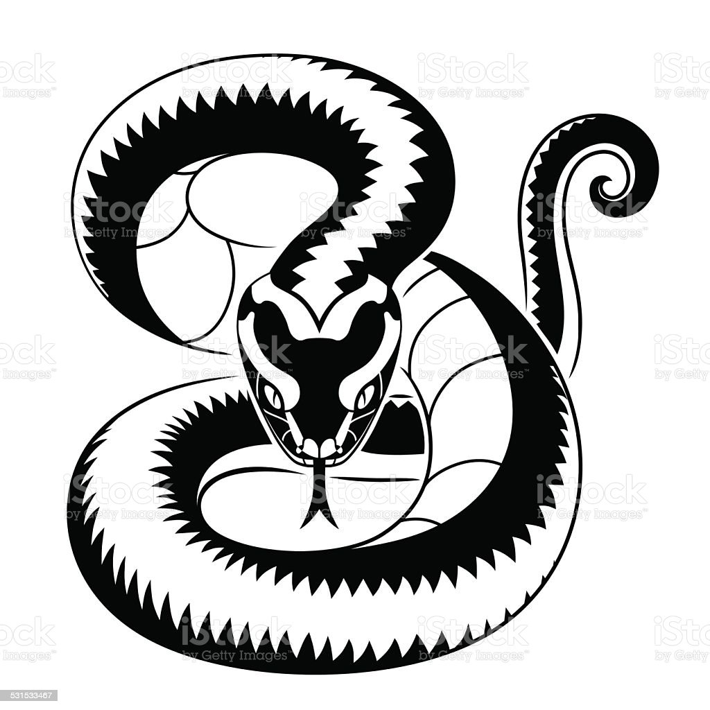 royalty free viper snake clip art vector images illustrations rh istockphoto com viperfish clipart viper snake clipart