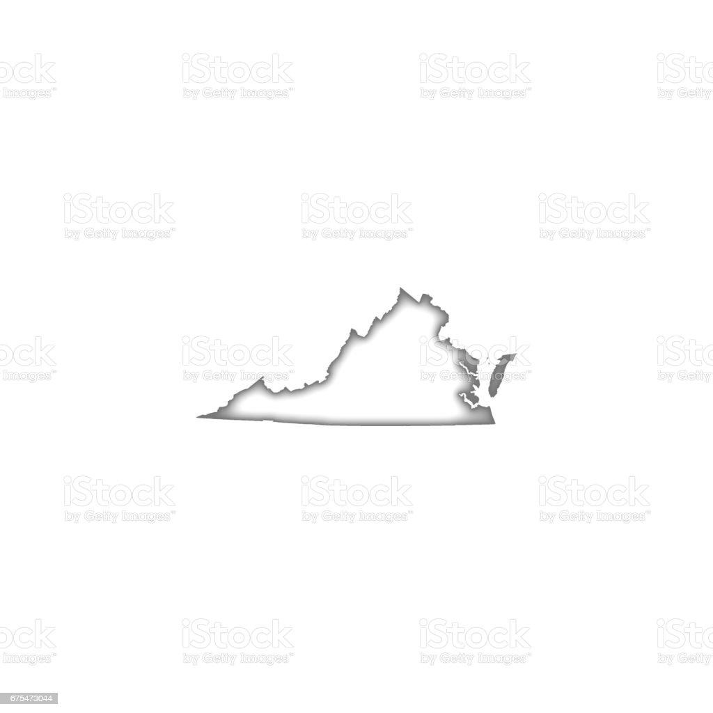 En Virginie en virginie – cliparts vectoriels et plus d'images de abstrait libre de droits