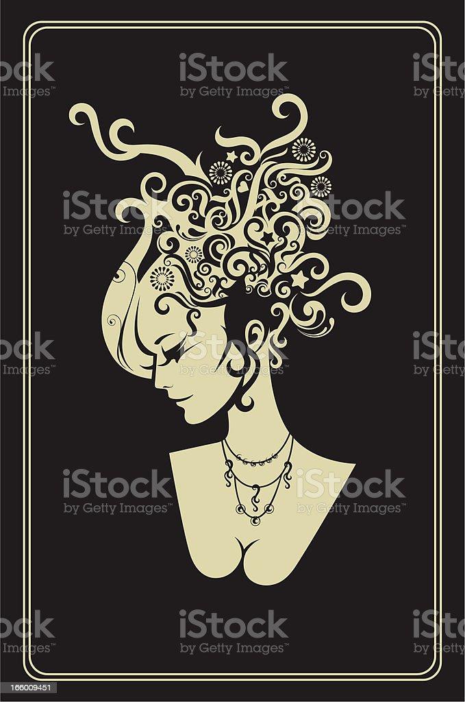 Panna. - Grafika wektorowa royalty-free (Biżuteria)