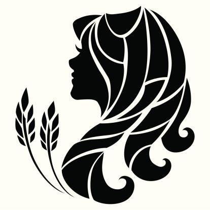 Virgo Zodiac Sign Stock Illustration - Download Image Now