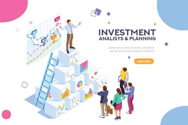 ilustraciones, imágenes clip art, dibujos animados e iconos de stock de ilustración de vector de finanzas virtuales - training