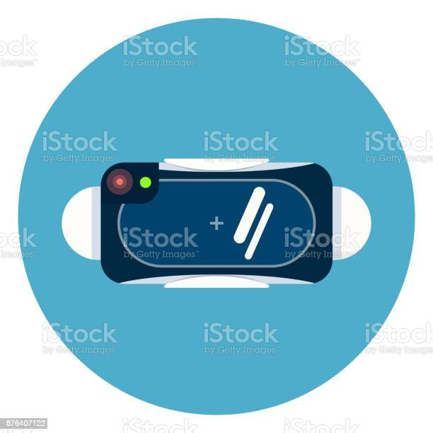 Virtual reality 3d glasses icon on blue round background vector id876407122?b=1&k=6&m=876407122&s=612x612&h=9xic hsg58nmmvbzbs4cvuei1hevoimqmojfwv00uoi=