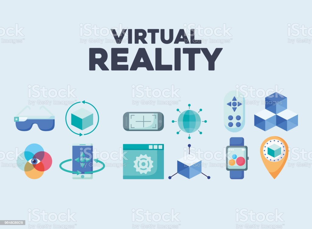 Virtual reality design royalty-free virtual reality design stock vector art & more images of 360-degree view