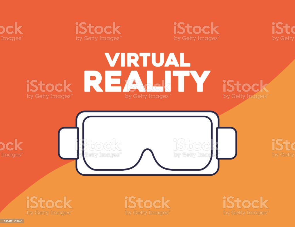 virtual reality design royalty-free virtual reality design stock vector art & more images of arts culture and entertainment