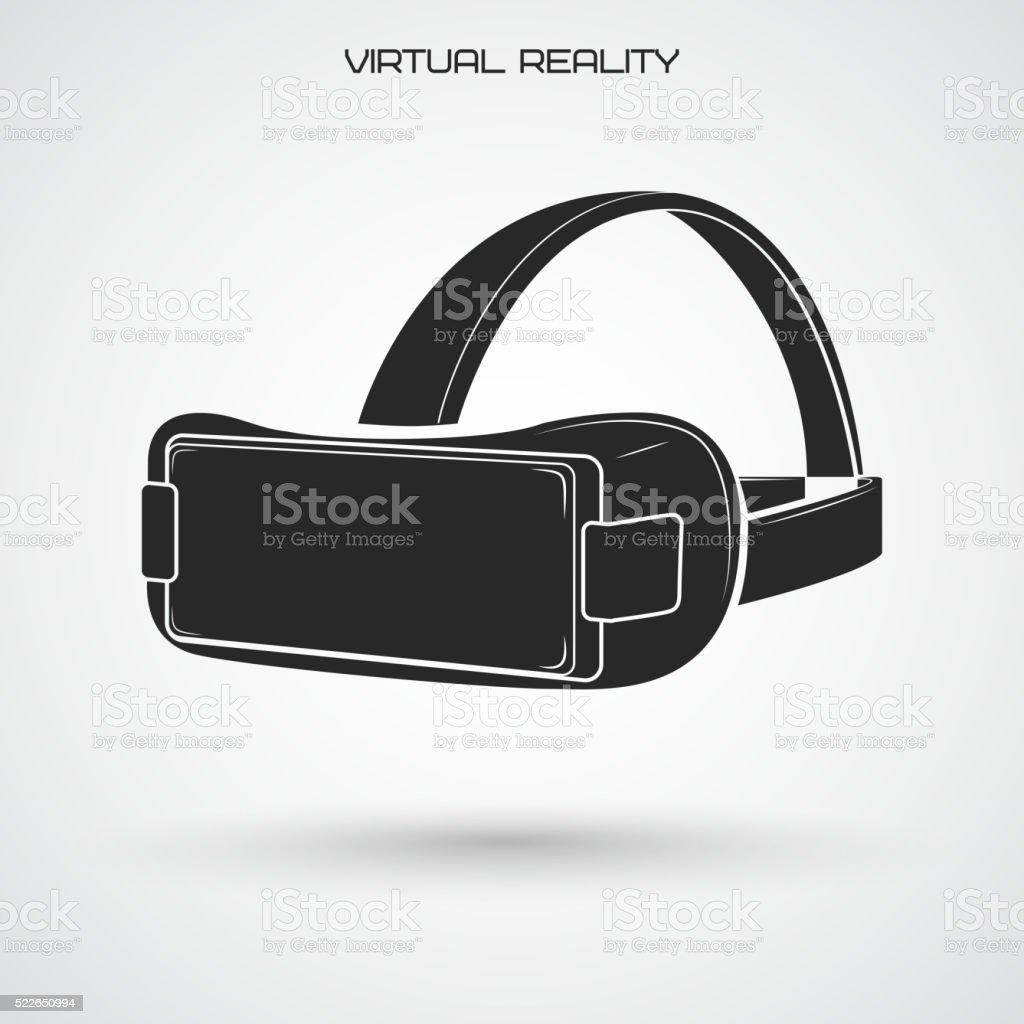Virtual reality-Gläser – Vektorgrafik
