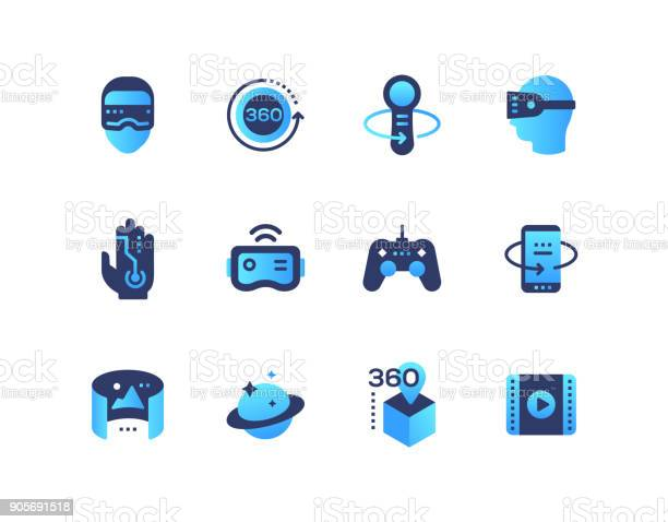 Virtual reality set of flat design style icons vector id905691518?b=1&k=6&m=905691518&s=612x612&h=pzjhkhk9w2vg4erppgkbz9e1 lnwkwqqnzx  zpjjeo=